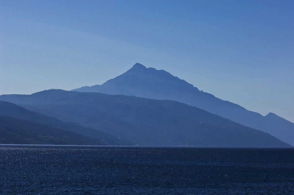 La Silouette del Monte Athos